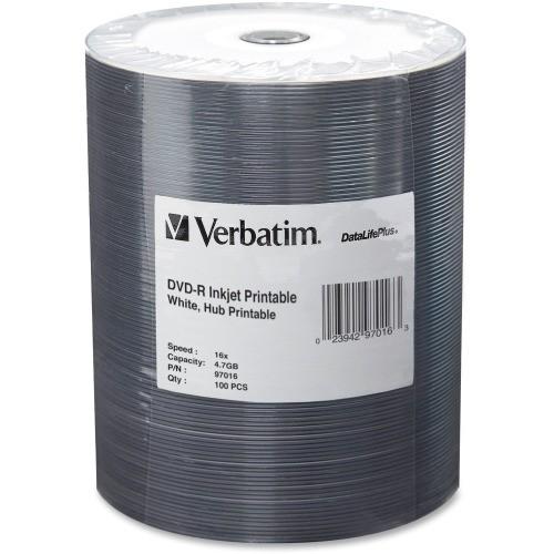 Verbatim DVD Inkjet Media