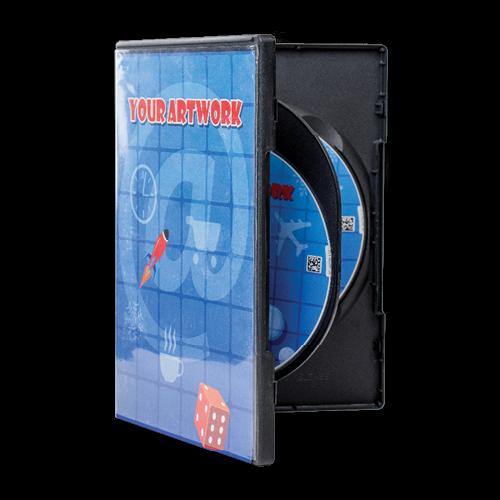Double DVD case