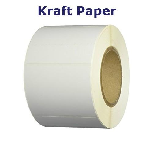 2.75x1 in. Kraft Matte Paper