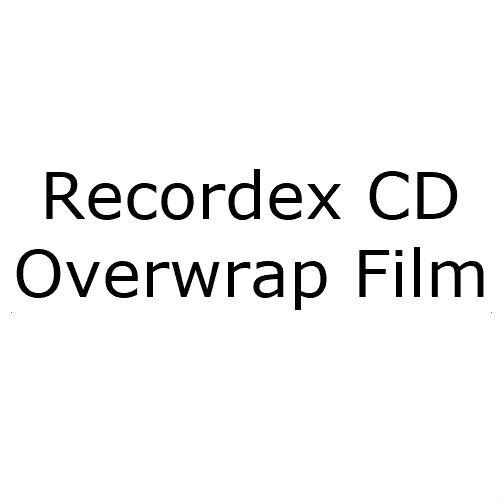 Recordex CD Overwrap Film